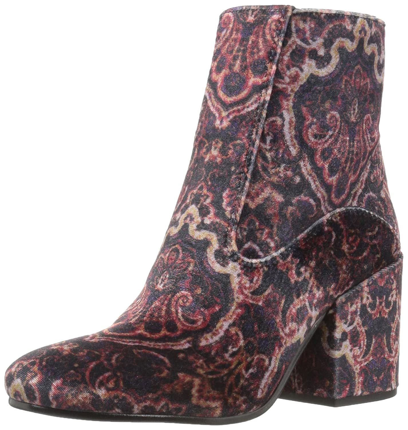 Lucky Brand Women's Rainns Ankle Boot B01NCOH5JL 8 B(M) US|Black Multi