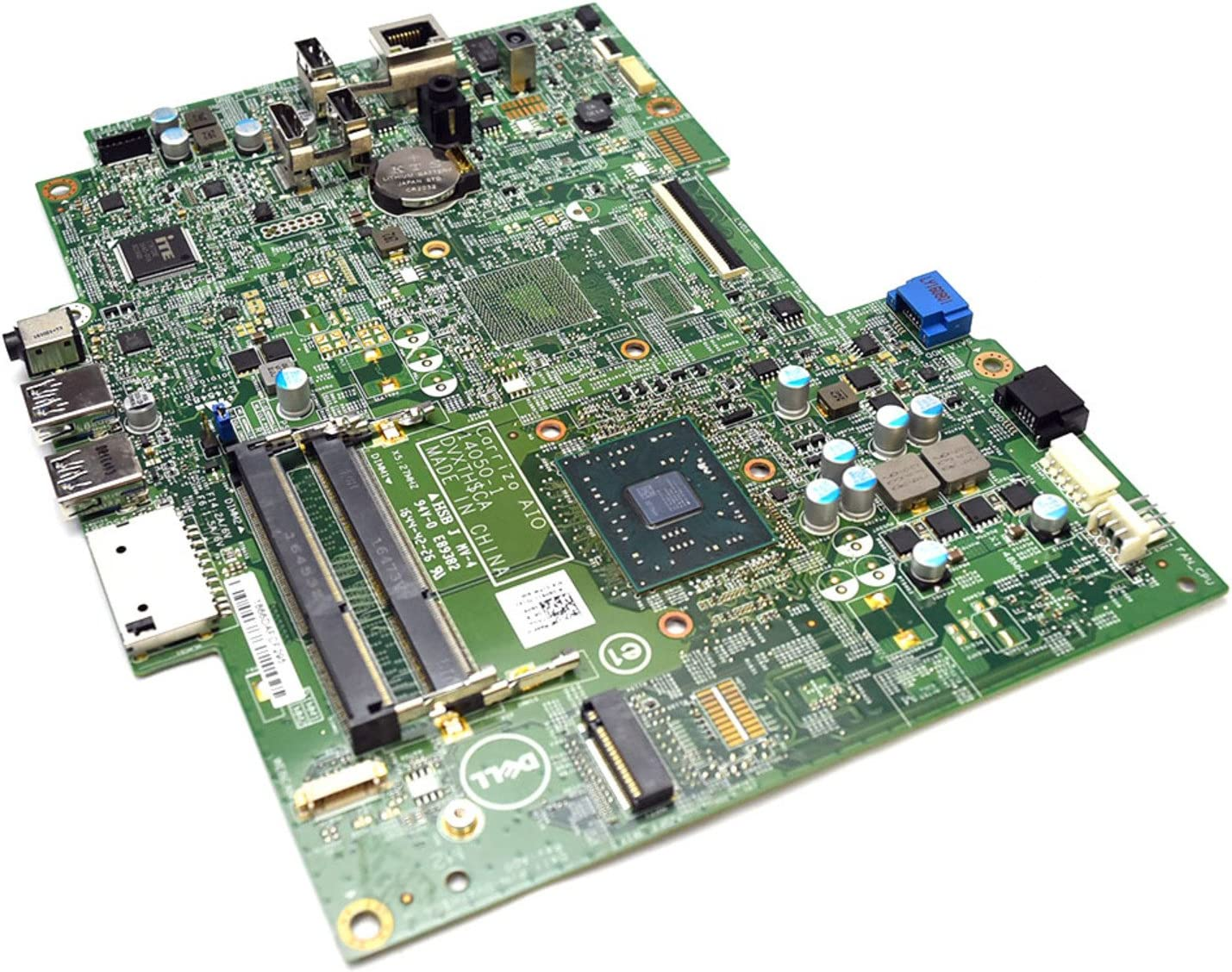 Aquamoon Trading 6H91J Genuine Original Dell Inspiron 24 3000 3455 Non-Touch All In One Integrated AMD A6-7310 Quad-Core APU Carrizo AIO Motherboard DDR3L Intel Main System Board 14050-1 DVXTH