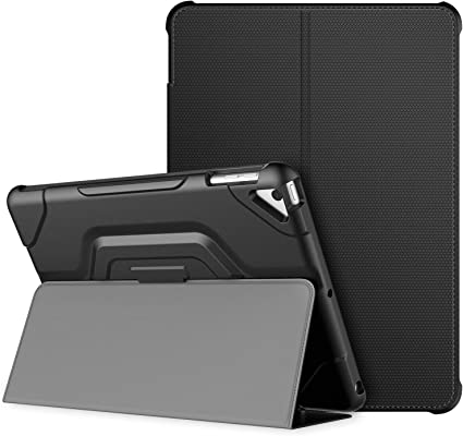 Smart Magnetic Leather Stand Folding Flip Back Cover Case For Apple iPad Models