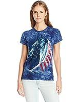 The Mountain Juniors' Patriotic Horse Head Graphic T-Shirt