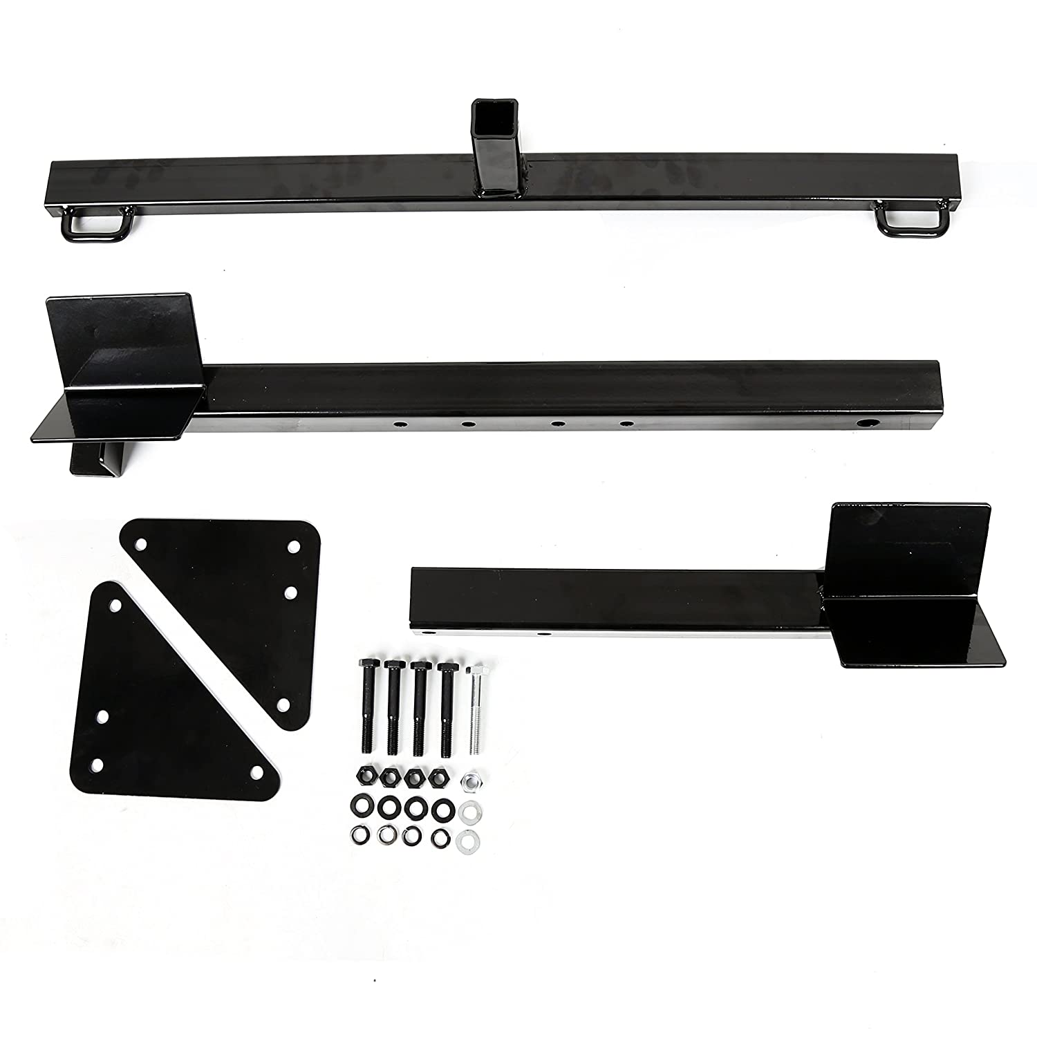 ECOTRIC Motorcycle Trailer Carrier Tow Hitch Rack Motorcycle Carrier