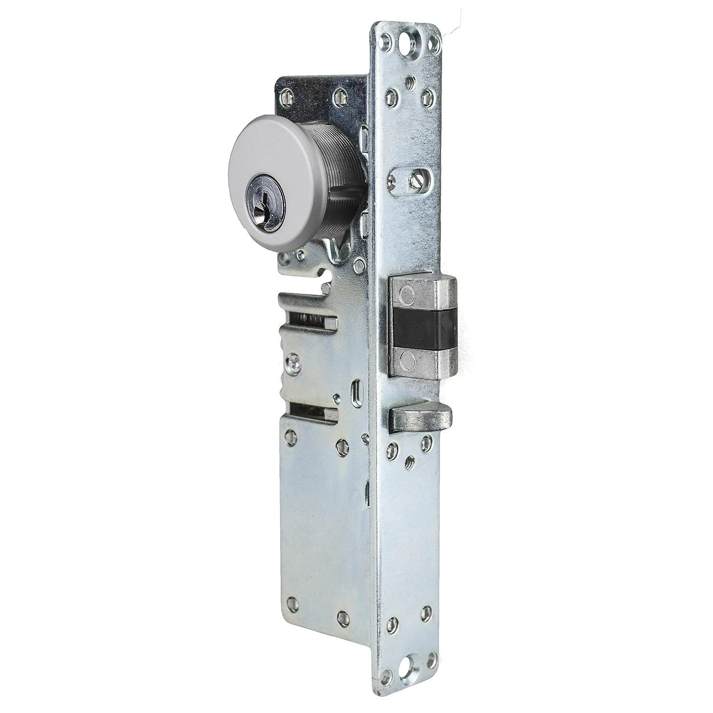 Global Door Controls 1-1//8 in Left Hand Mortise Lock with Deadlatch Function