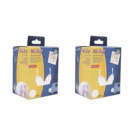 Nûby - Dos paquetes de Discos de lactancia ultrafinos - Día - 2 x 30 ...