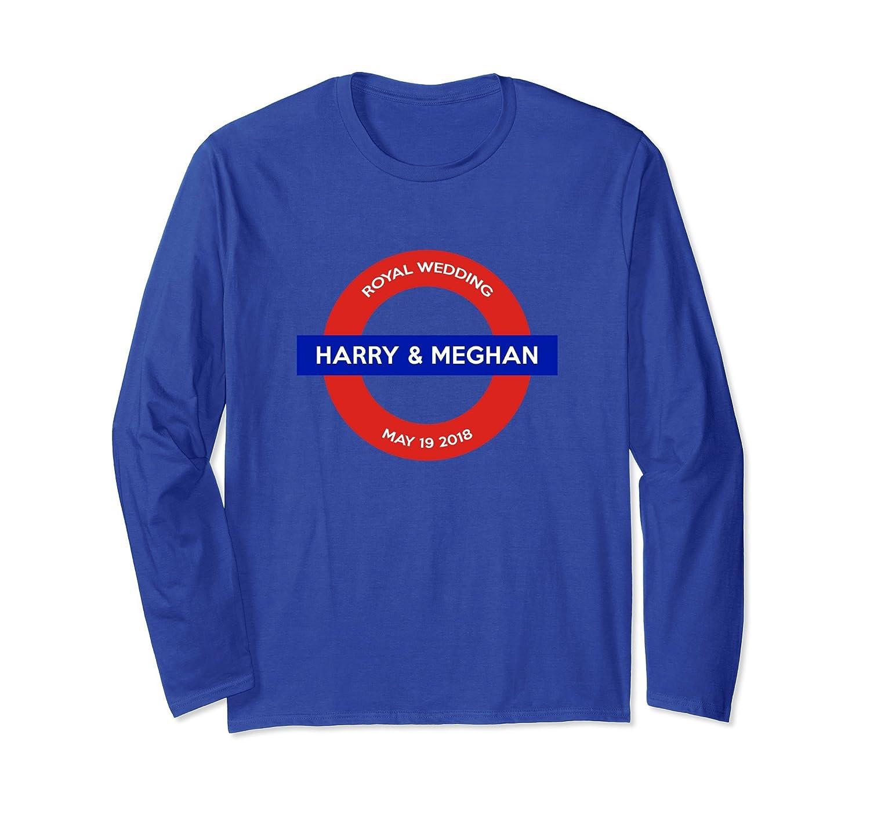 Harry and Meghan 2018 Royal Wedding Long Sleeve Shirt-alottee gift