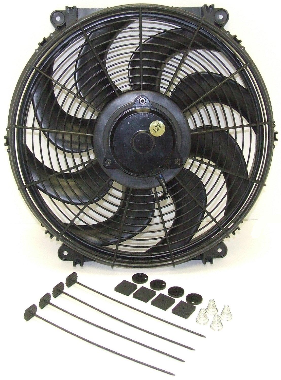 Hayden Automotive 3700 Universal Rapid-Cool Thin-Line Electric Fan