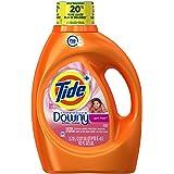 Tide Plus Downy HE Turbo Clean Liquid Laundry Detergent, April Fresh Scent, 2.72 L (59 Loads)