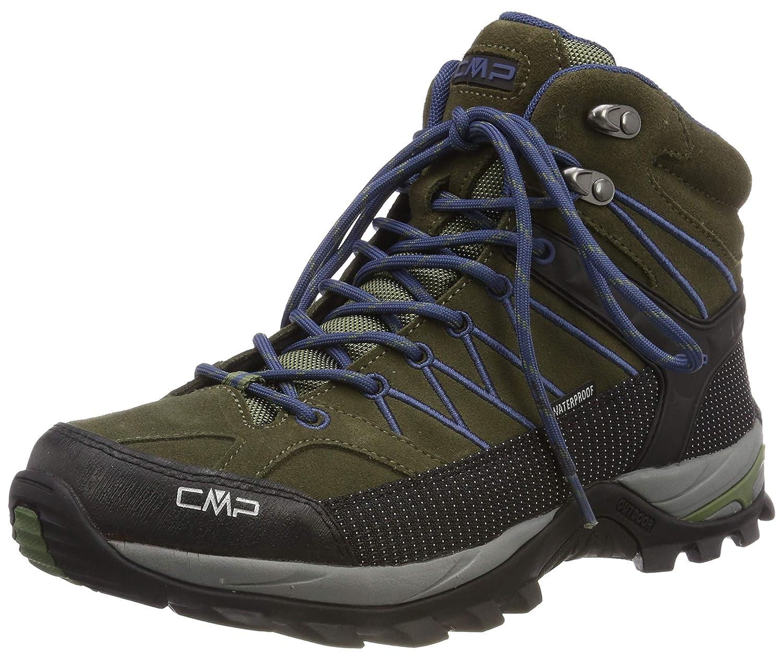 Vert (Olive-marine 08fc) 41 EU CMP Rigel Mid, Chaussures de Trekking et randonnée Homme