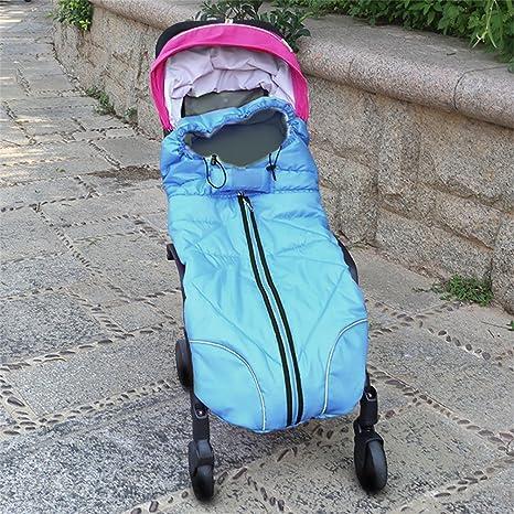 nuoyo – Saco de dormir para bebé calentador de invierno saco para silla de paseo para