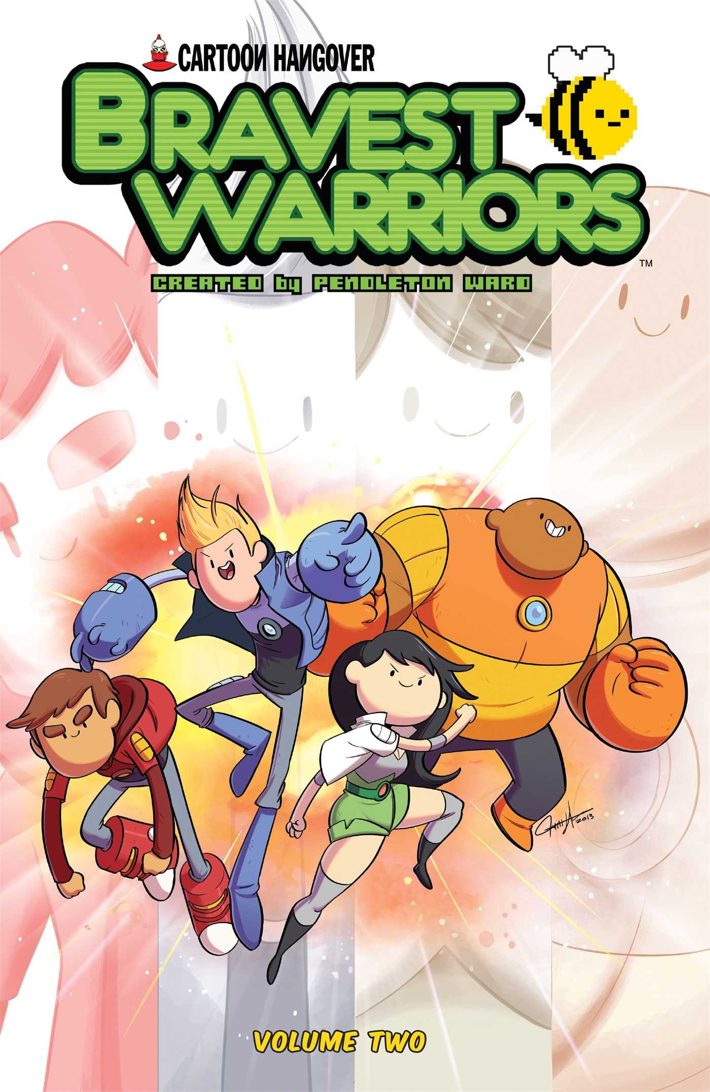 Amazon: Bravest Warriors Vol 2 (9781608863525): Joeyeau, Mike  Holmes: Books