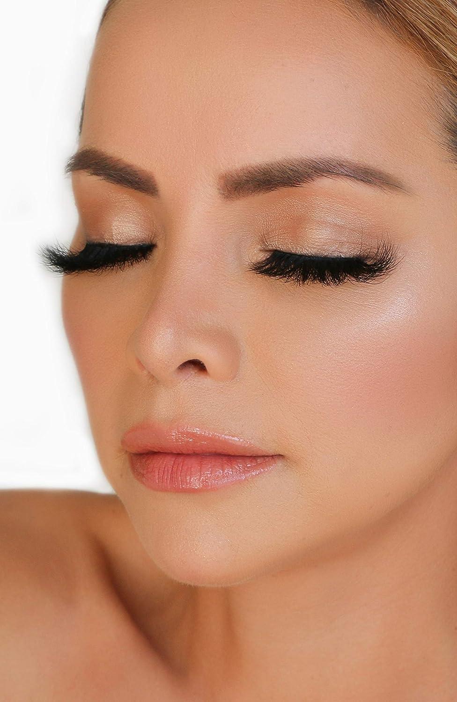 a90a5fd3ecf Amazon.com : Luxurious 6D Volume False Mink Lashes | Eyelash Extension  Effect 100% Handmade Fake Eyelashes 30 Times Reusable | Natural & Dramatic  Styles Non ...