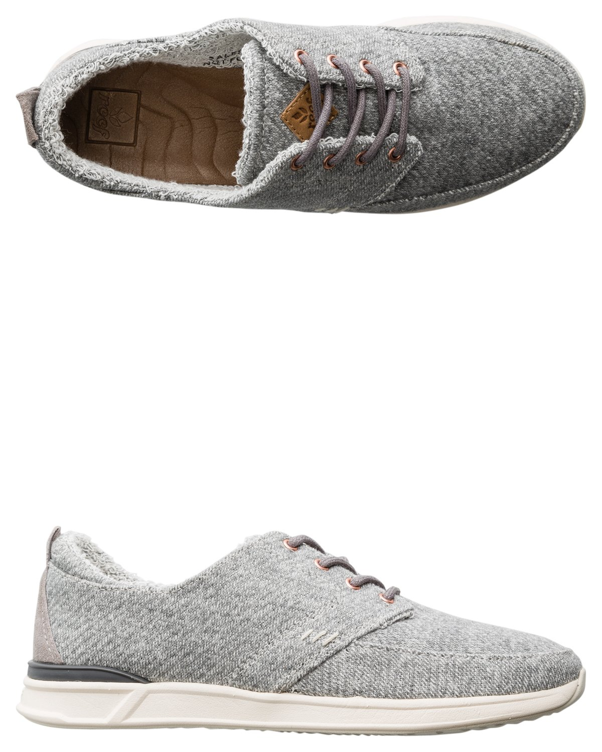 Reef Women's Rover Low TX Fashion Sneaker B017WTR62Q Medium Heather / 6 B(M) US|Grey Heather Medium ad19fd