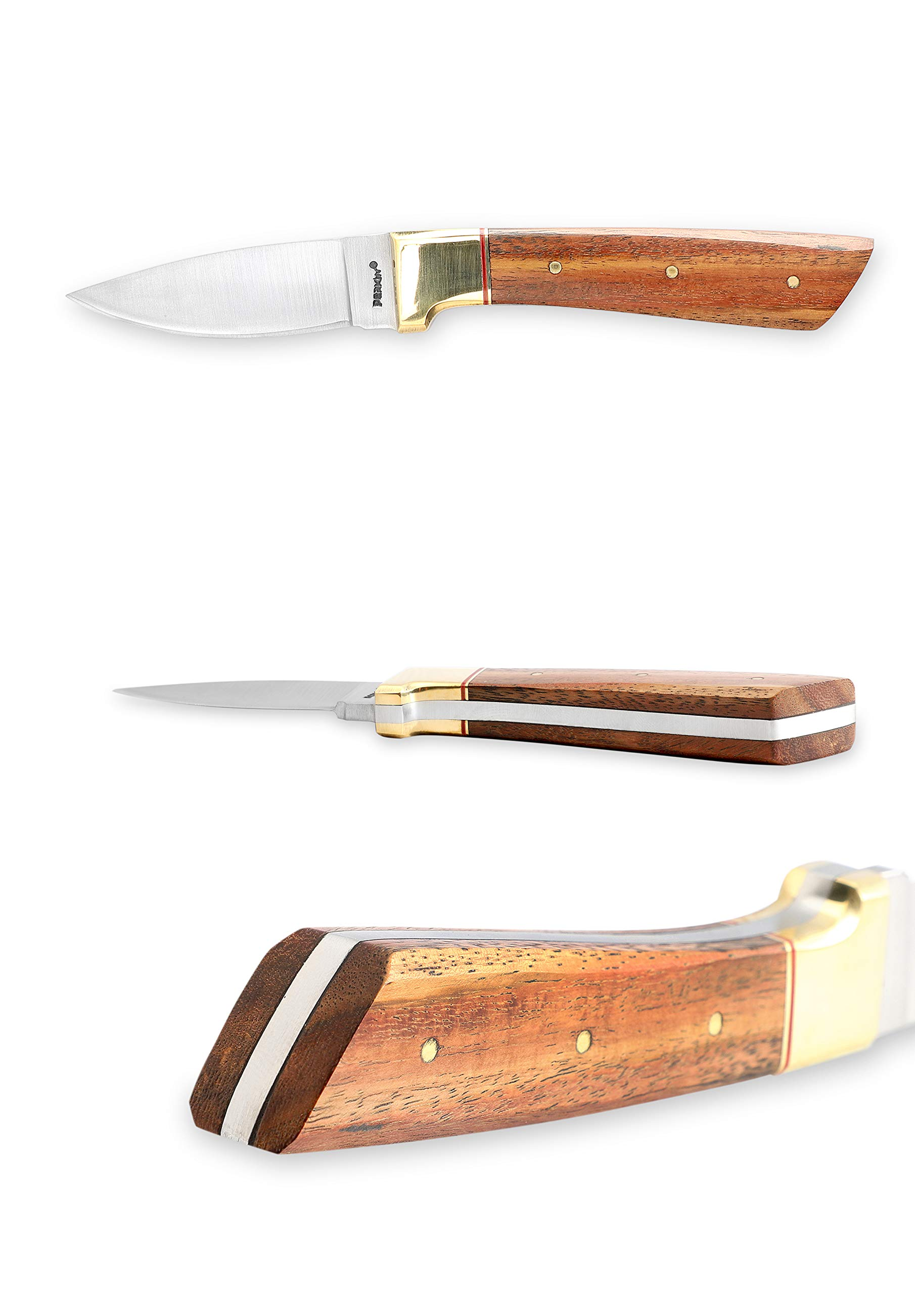 Perkin Knives - Handmade Hunting Knife With Sheath- Work of Art