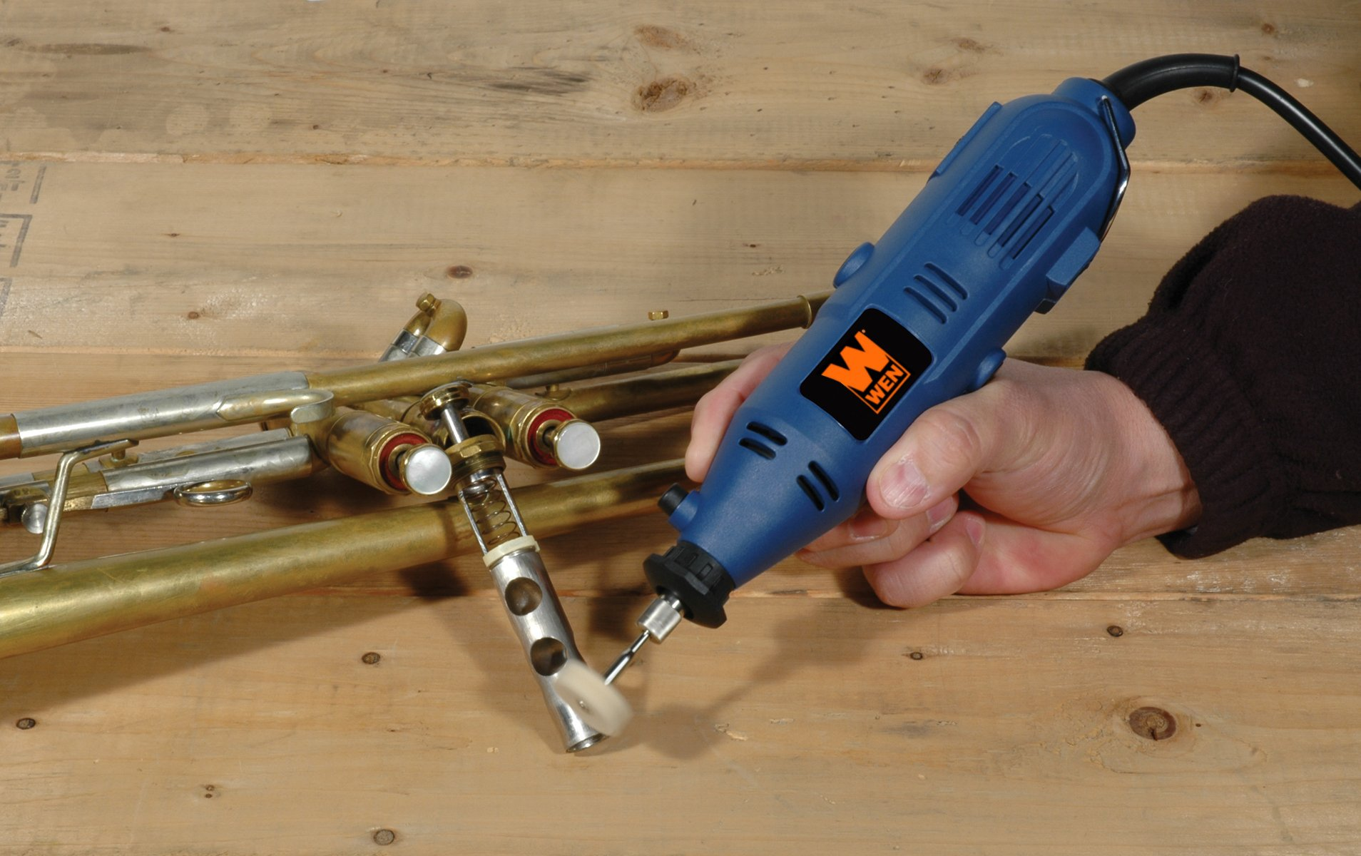 WEN 2305 Rotary Tool Kit with Flex Shaft by WEN (Image #6)