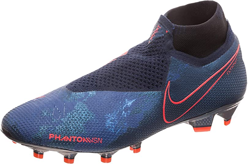 mejilla dentro Falsedad  Nike Phantom VSN Elite DF FG Mens Football Boots AO3262 Soccer Cleats (UK  9.5 US 10.5 EU 44.5, Obsidian Black 440): Amazon.co.uk: Shoes & Bags
