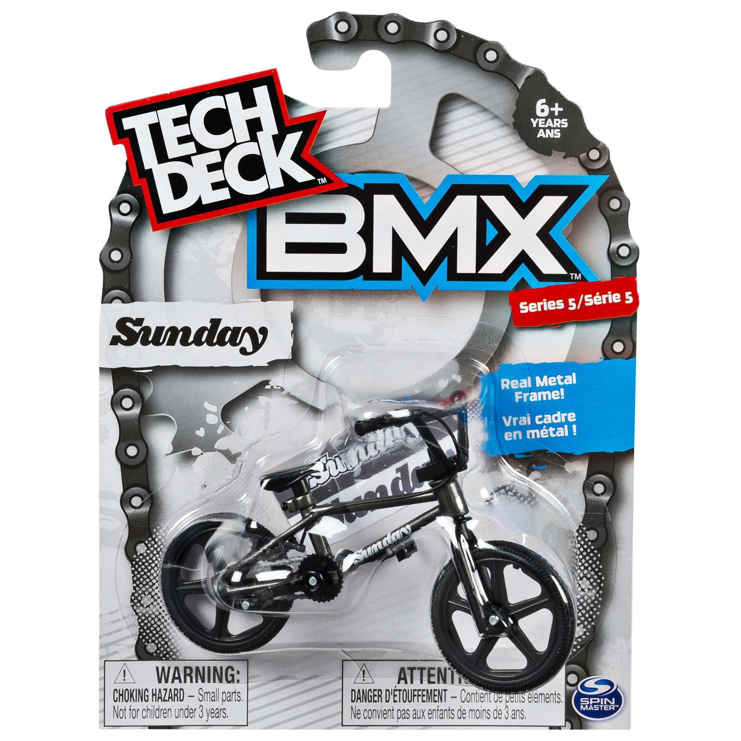 Tech Deck - BMX Finger Bike – Sunday – Black/Grey – Series 5