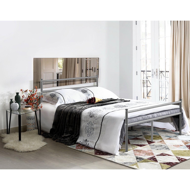 Erfreut Metallrahmen Für Großes Bett Galerie - Rahmen Ideen ...