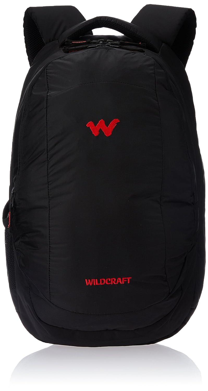Wildcraft Polyester Black Laptop Bag (8903338054290)