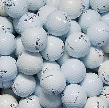 d94f07c2dd902 Second Chance 100-CAL-BOX - Lote de 100 bolas de golf recuperadas de lagos  de varios modelos clase B Callaway  Amazon.es  Deportes y aire libre