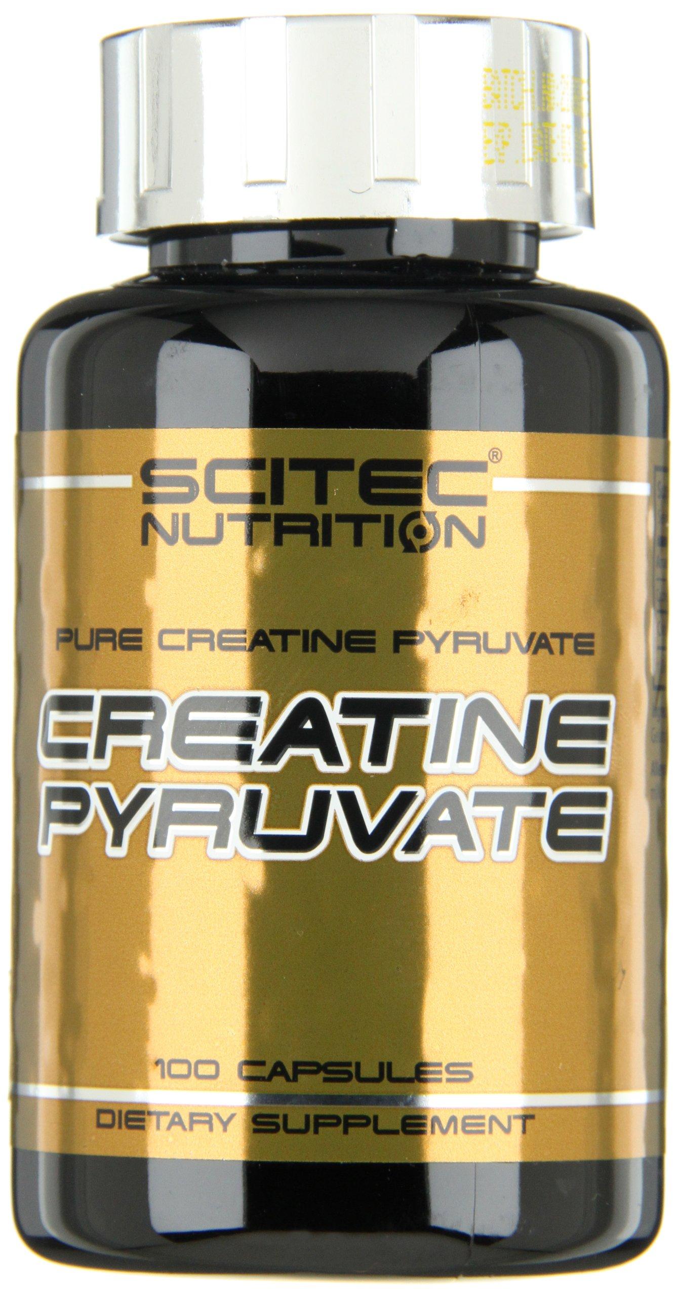 Creatine pyruvate - 100 capsules - Scitec nutrition