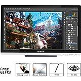 """Huion GT-220 V2 (Argenté) 21.5"""" Pen Display Moniteur Graphique IPS Interactive Pen Monitor pour Windows et Mac"""