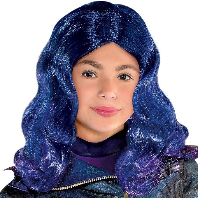 Women Girls Descendants Cosplay Costumes Wigs Party Fancy Dress Outfit