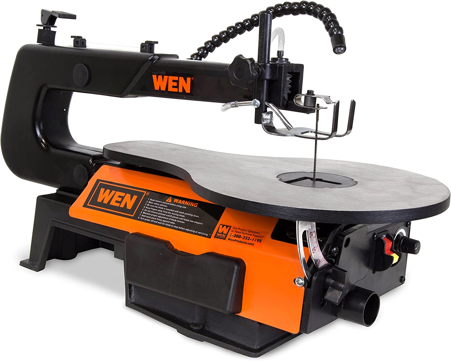 WEN 3921 16-Inch Two-Direction Variable Speed Scroll Saw – Best Corded-Electric Scroll Saw