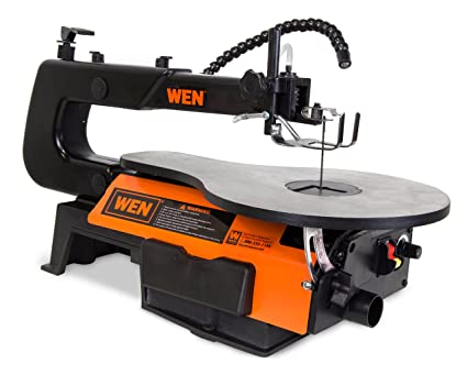 Amazon wen 3920 16 inch two direction variable speed scroll saw wen 3920 16 inch two direction variable speed scroll saw with flexible led light keyboard keysfo Choice Image