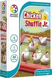 SmartGames Chicken Shuffle, Multicolor, 1 Piece