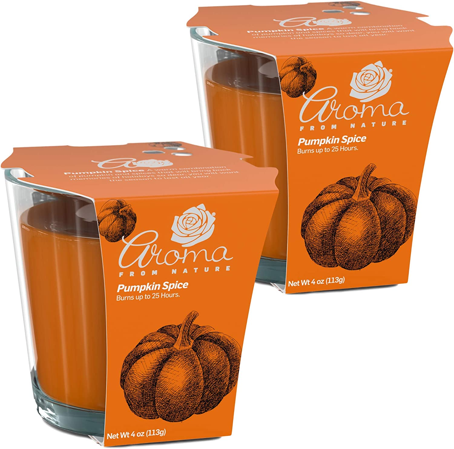 Aroma From Nature Pumpkin Spice 4 oz