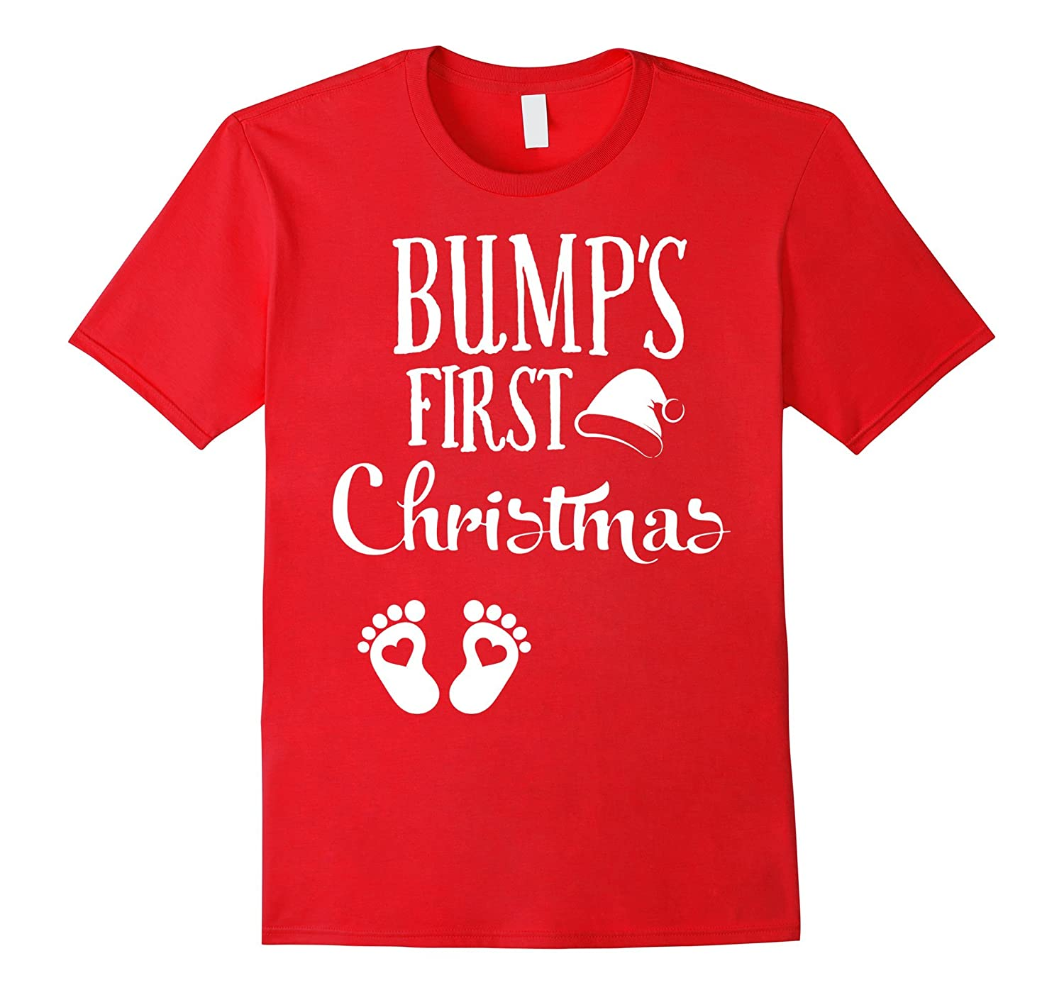 Pregnant gifts- Bump\'s First Christmas shirts- Pregnant-ANZ - Anztshirt