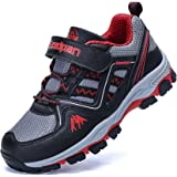 Jabasic Kids Hiking Shoes Outdoor Adventure Athletic Sneakers