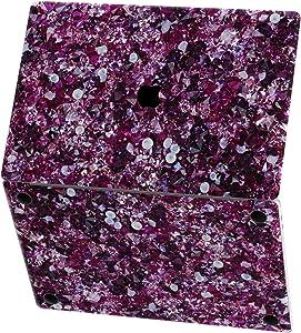 Mertak Vinyl Skin for Apple MacBook Air 13 inch Mac Pro 16 15 Retina 12 11 2020 2019 2018 2017 Laptop Sticker Top Gemstones Texture Decal Jewelry Keyboard Wrap Purple Amethyst Cover Crystal