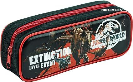 Jurassic World - Estuche para lápices, color negro: Amazon.es: Juguetes y juegos