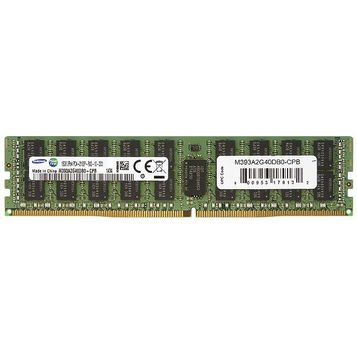 Samsung DDR4 2133MHzCL15 16GB RegECC 2Rx4 (PC4 2133) Internal Memory M393A2G40DB0-CPB