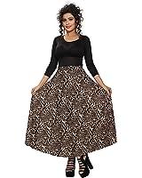 Chakudee Women's Animal's Printed Skirts Women's Best Skirt