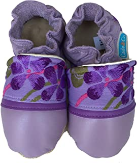 product image for VIOLET Handmade in USA, All-Natural Leather Baby Shoes.