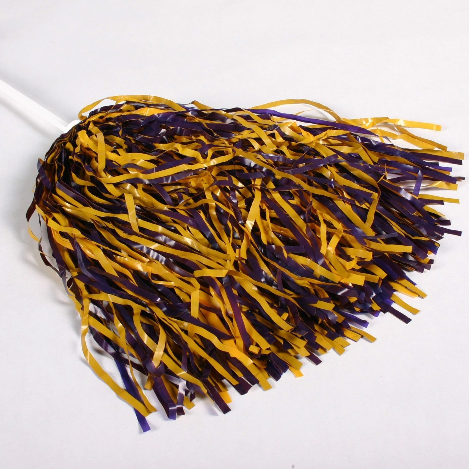 6 Pack Purple and Gold Pom Poms (Set of 6) Wincraft