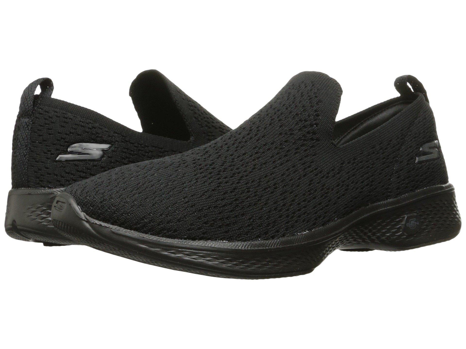Skechers Performance Women's Go 4-GoWalk14918 Walking Shoe,Black,7.5 M US