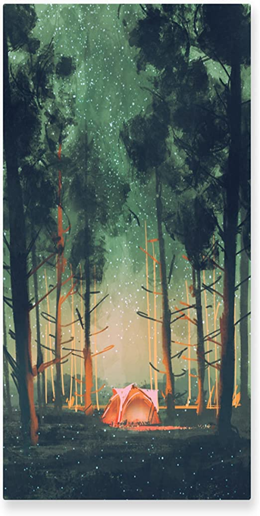 Firefly Green Forest Canvas Wall Art prints high quality