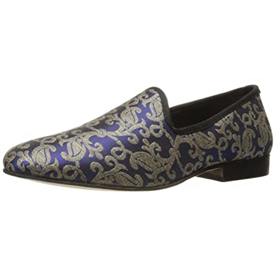 STACY ADAMS Men's Venice Smoking Slip-On Printed Loafer | Loafers & Slip-Ons