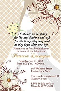 personalized bridal shower invitations fairytale cards custom printed