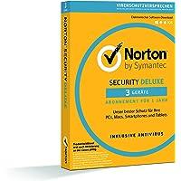 Norton Security Deluxe 2018   3 Geräte   1 Jahr  PC/Mac/iOS/Android  Download