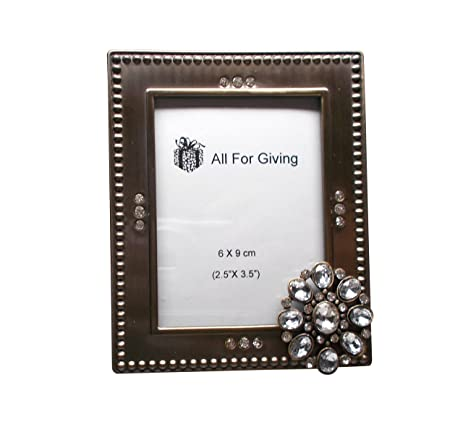 Amazon.com - Beautiful 2.5 x 3.5 Picture Frames, 3D Embellishments ...