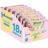 Johnson's baby - Pack toallitas 56 x 18 (1008 toallitas)