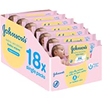 Johnsons baby - Pack toallitas 56 x 18 (1008 toallitas)
