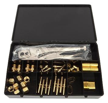 Forney 86113 - Kit de reparación de manguera de acetileno de ...