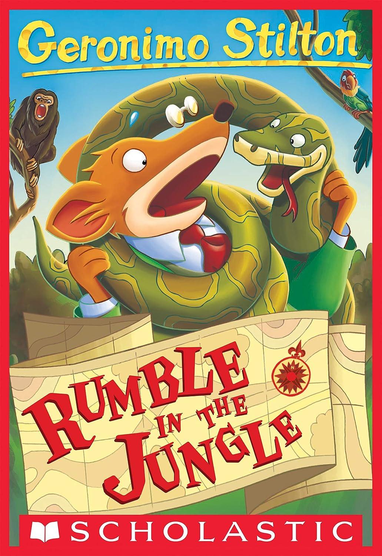 Geronimo Stilton #53: Rumble in the Jungle (English Edition) eBook ...