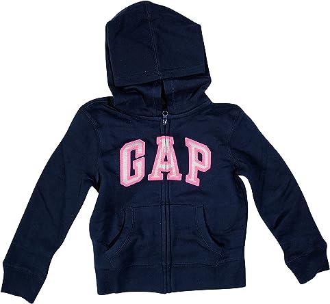 GAP Girls Fleece Arch Logo Pullover Hoodie