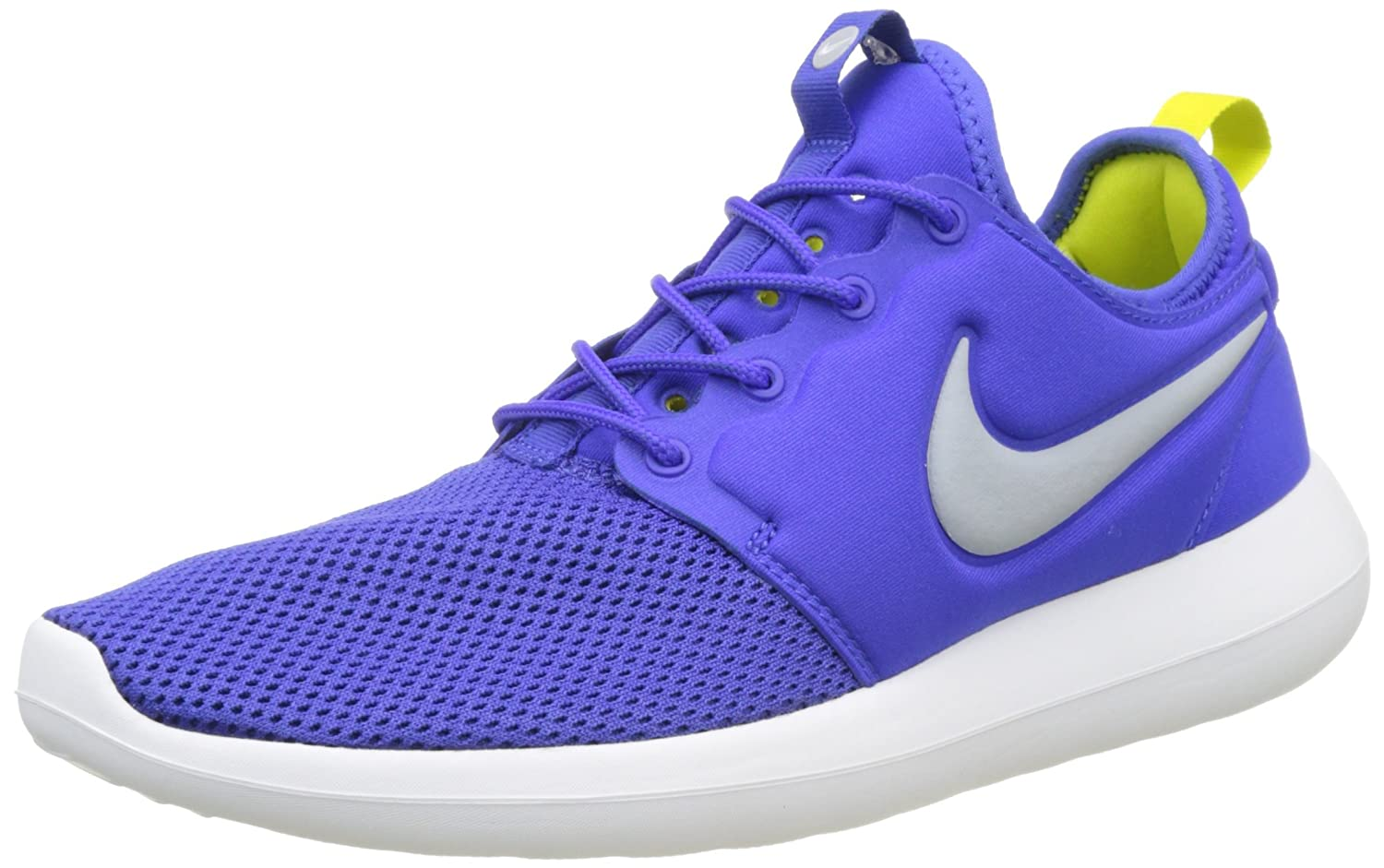 NIKE Men's Roshe Two Running Shoe B01N3A8IQA 9 D(M) US|Paramount Blue/Wolf Grey