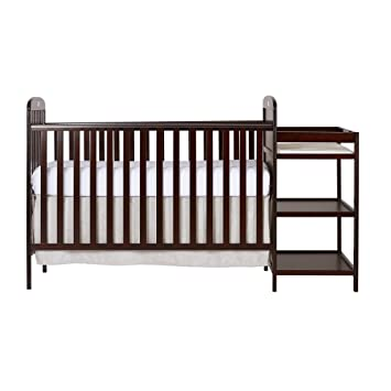 Amazoncom Dream On Me 4 in 1 Full Size Crib and Changing Table
